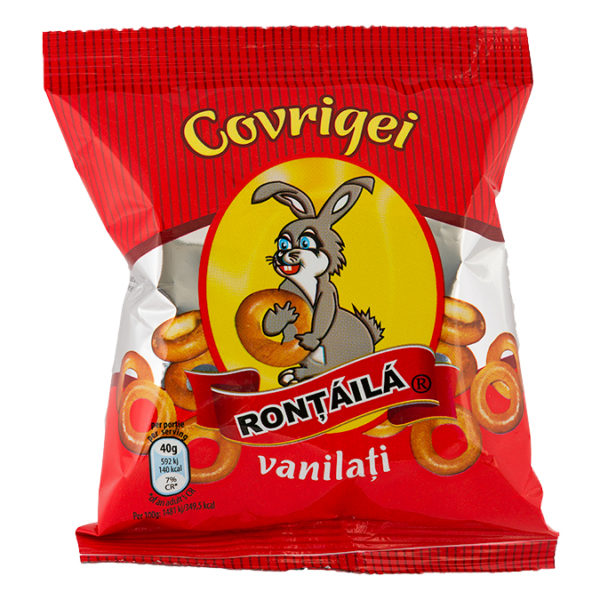 Covrigei vanilati