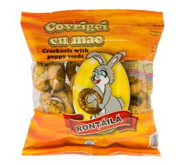 Poppy-seed pretzels
