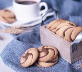 Biscuiti cu cacao tornado